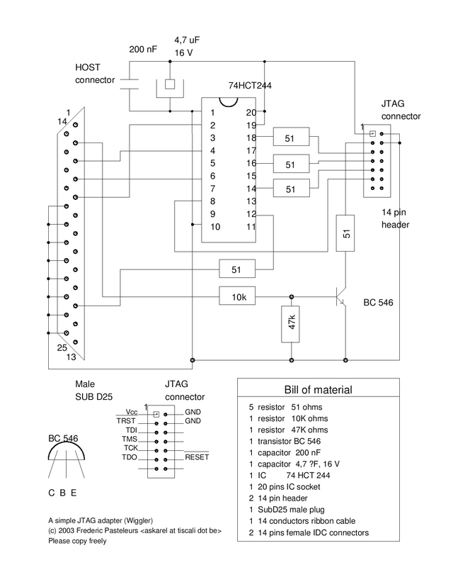 Wiggler JTAG adaptor - .[ZooBaB].